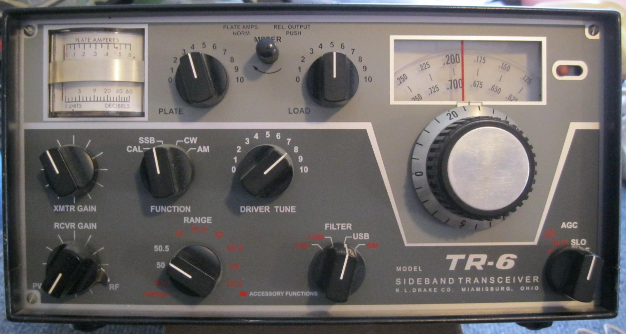 DRAKE TR-6 TRANSCEIVER