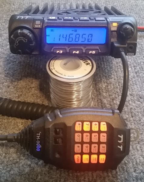 TH-9000 VHF and UHF Transceivers