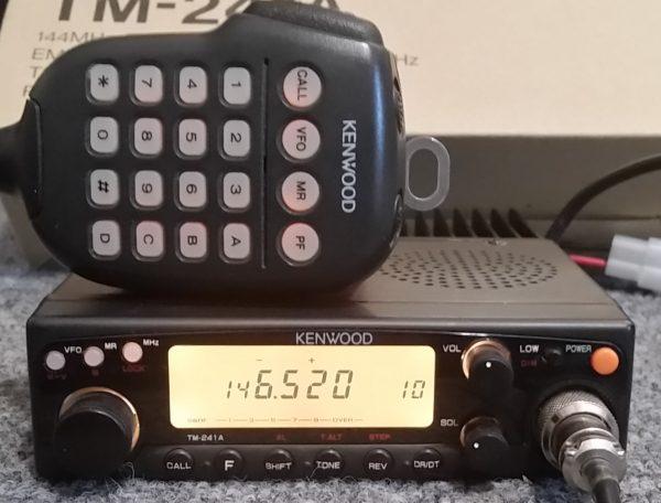 Kenwood TM-241A VHF FM Transceiver