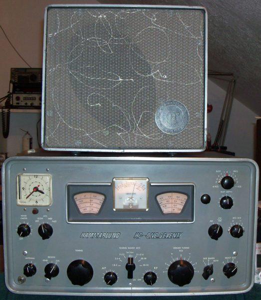 Hammarlund HQ-170C/Matching Speaker